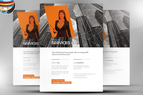 Multiuse Corporate Flyer Template