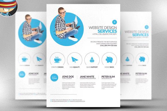 Flyer Design Templates 7435543 Hitori49fo