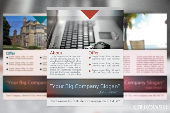 Multipurpose Corporate Flyer