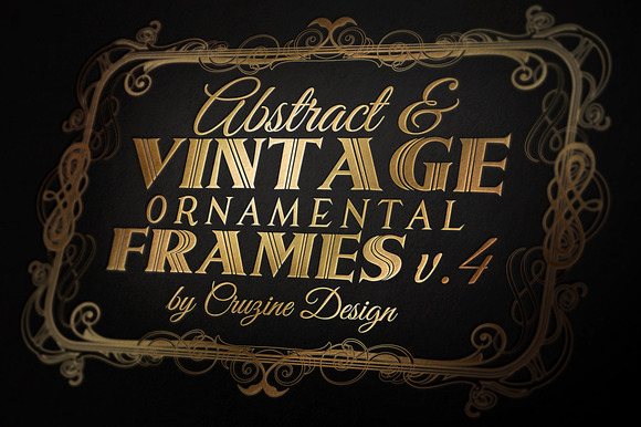 10 Frames Vol.4 Vintage Ornament