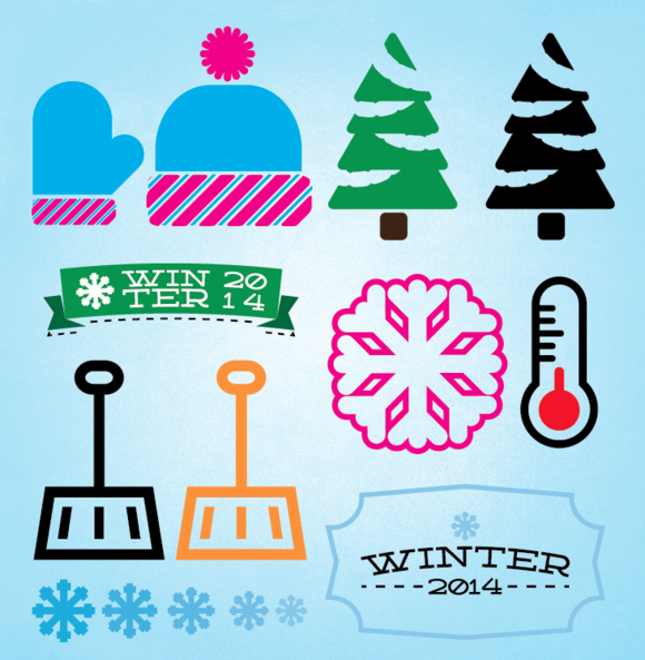 Winter Vectors