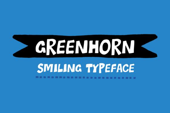 Greenhorn Font