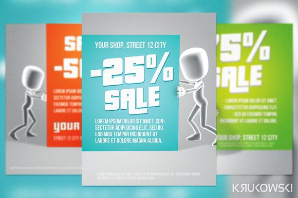 Sale Clean Flyer