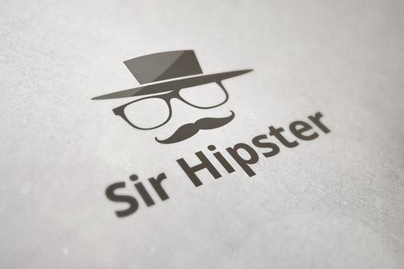 Sir Hipster Logo