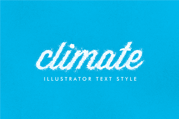 Climate Illustrator Text Style