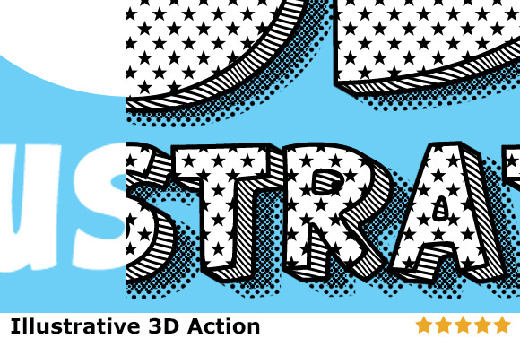ILLUSTRATIVE 3D STYLES ACTION