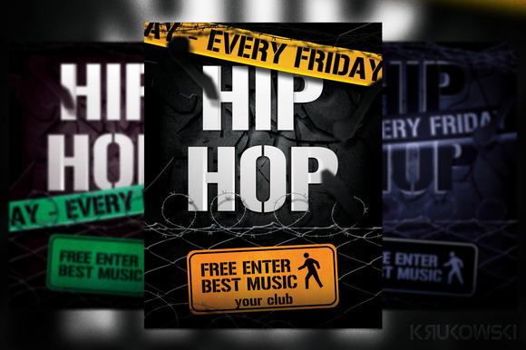 Hip Hop Flyer