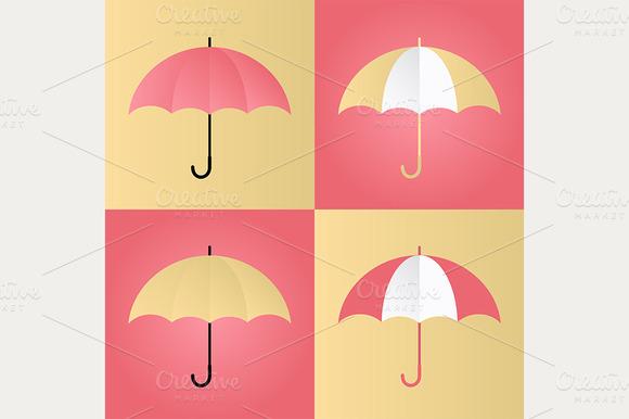 4 Bright Umbrellas Vol 1