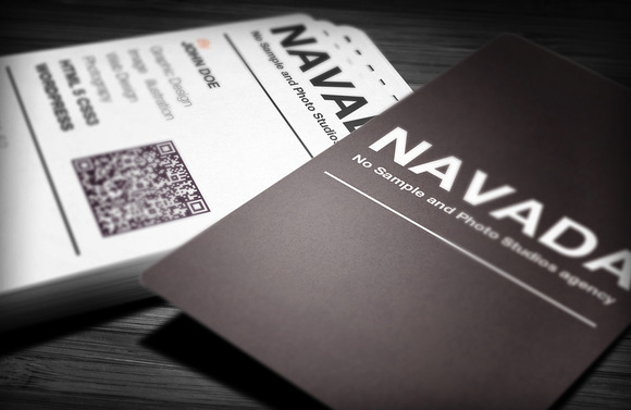 Navada Creative Business Card