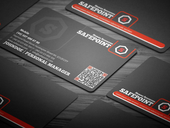 Safe Point Corporate Business Card