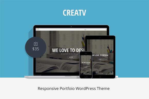 Creatv Responsive Portfolio Theme