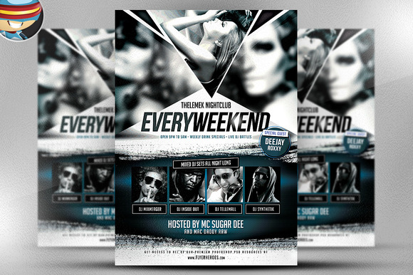 Every Weekend Flyer Template