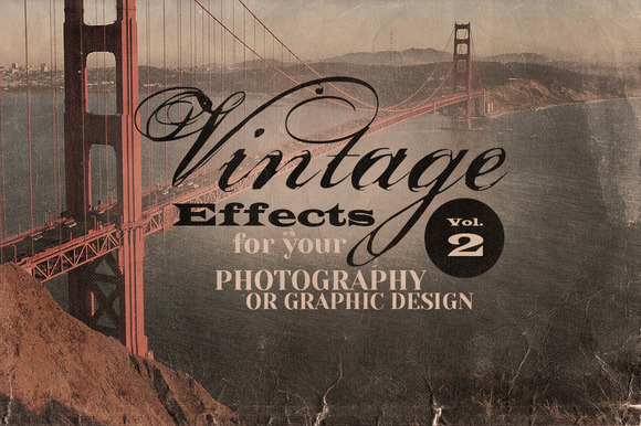 Vintage Effects For Photo Designs 2