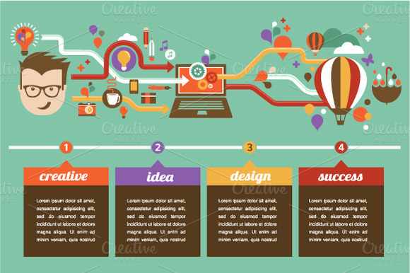 Design Creative Idea Infographic