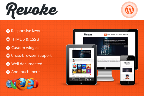 Revoke Responsive WordPress Theme