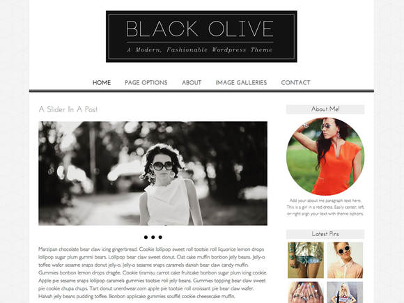 Black Olive A Fashionable Theme