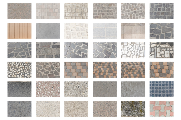 36 High-resolution Pavment Textures