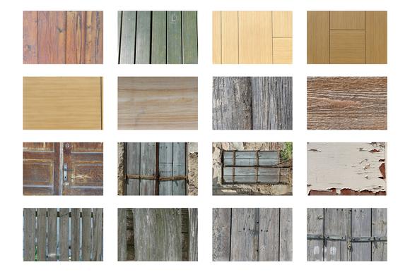 19 Wood Textures