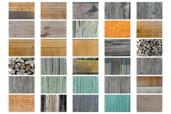 44 Wood Textures