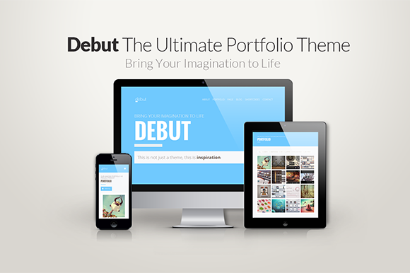 Debut The Ultimate Portfolio Theme