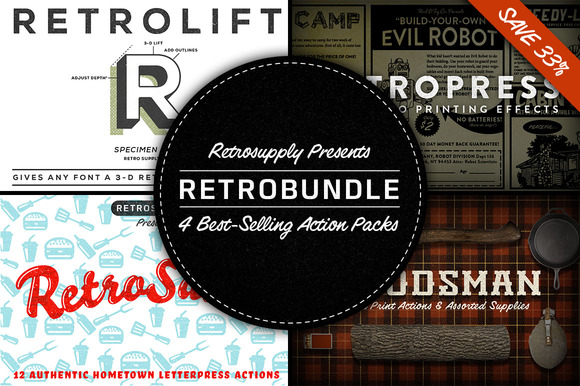 RetroBundle 4 Best-Selling Actions
