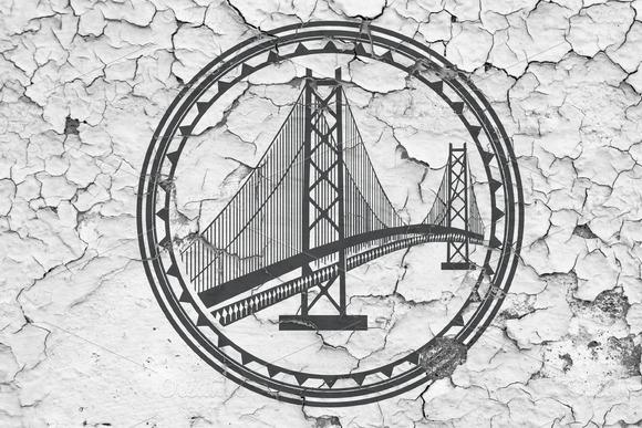 Logo Template Bridge