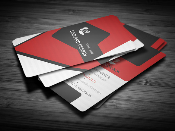 Modern Colorfull Business Card