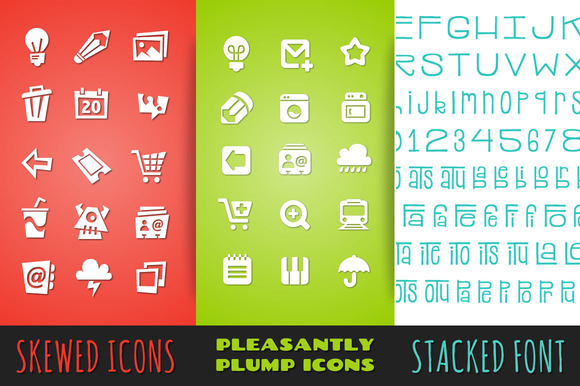 Icon Font Bundle Pack