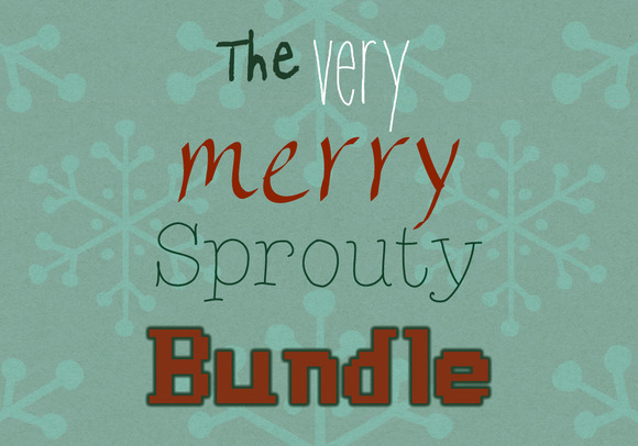 Sprouty Font Collection Vol 1