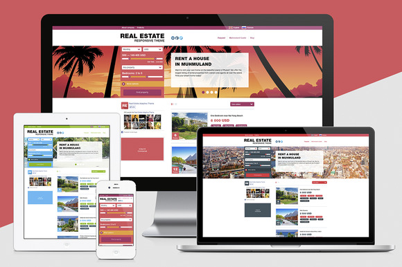Real Estate Responsive Theme