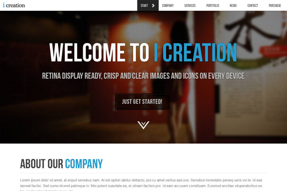 I Creation Multipurpose HTML Theme