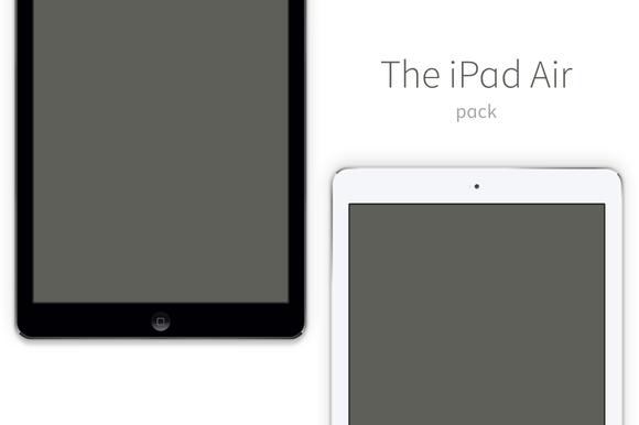 IPad Air Vector Pack