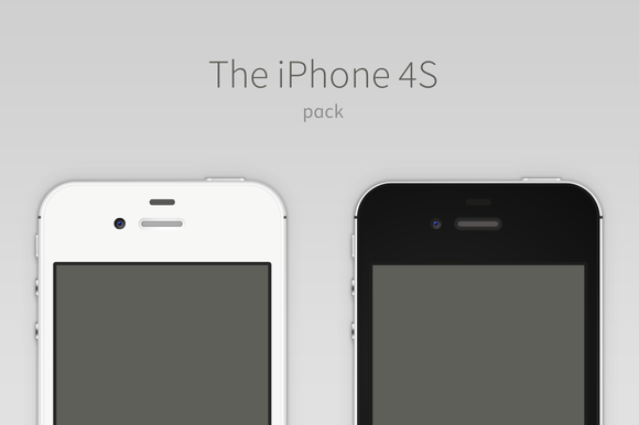 IPhone 4S Vector Pack