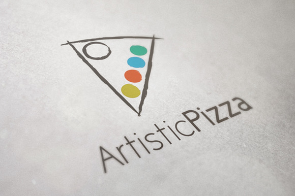 Creative Pizza Logo