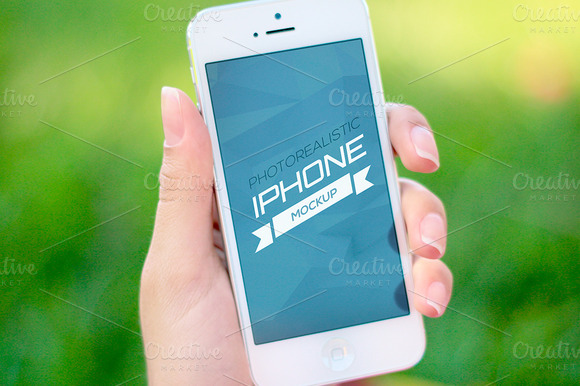 Photorealistic IPhone Mockup