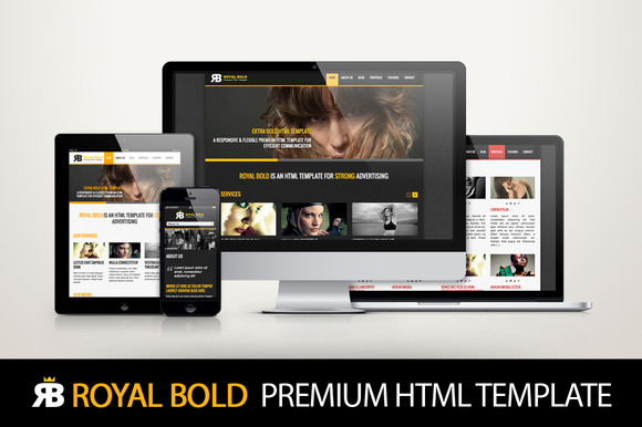 Royal Bold Premium HTML Template