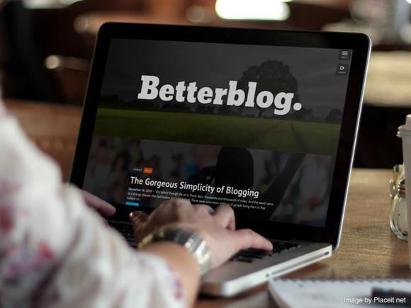 Betterblog WordPress 3.8 Theme