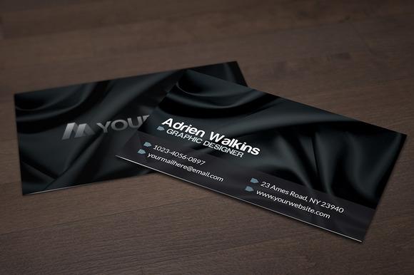 Dark Silk Business Card