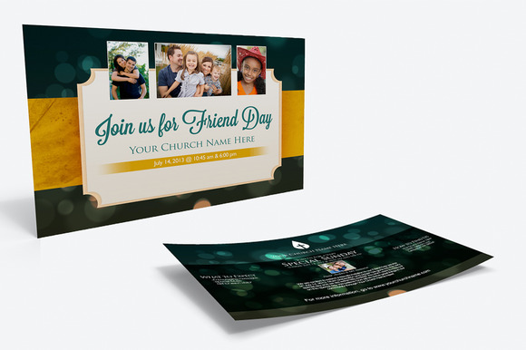 Large Friend Day Outreach Card
