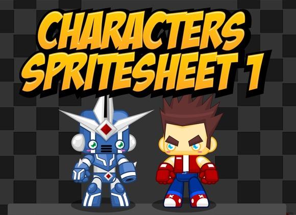 Characters Spritesheet 1