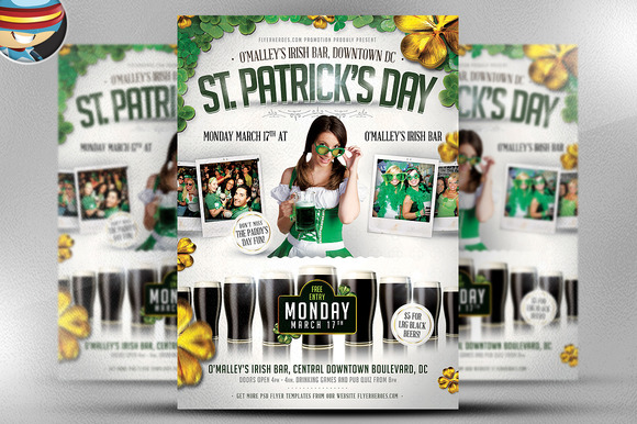 Saint Patrick S Day PSD Flyer 5