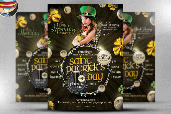 Saint Patrick S Day PSD Flyer 7