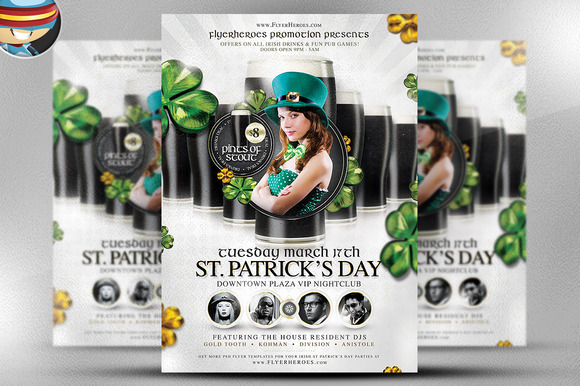 St Patrick S Day PSD Template 6
