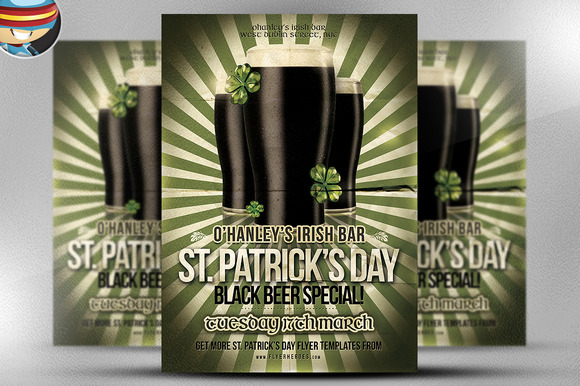 Saint Patrick S Day PSD Flyer 4
