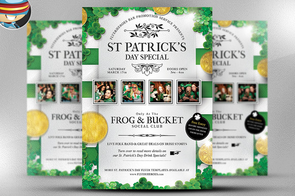 Saint Patrick S Day PSD Flyer 1
