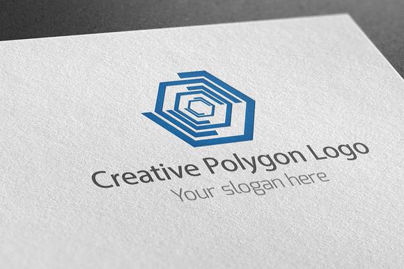 Creative Polygon Logo