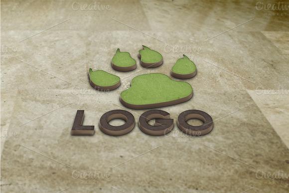 Realistic Logo Mock Ups