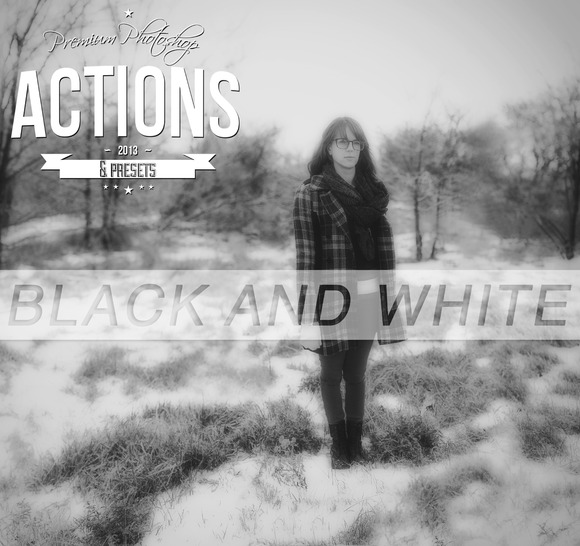 Black And White Photoshop Actions