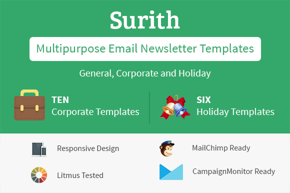 Surith Email Newsletter Templates