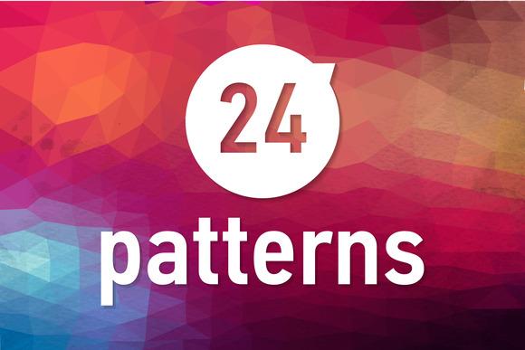 24 Bridht Geometric Patterns
